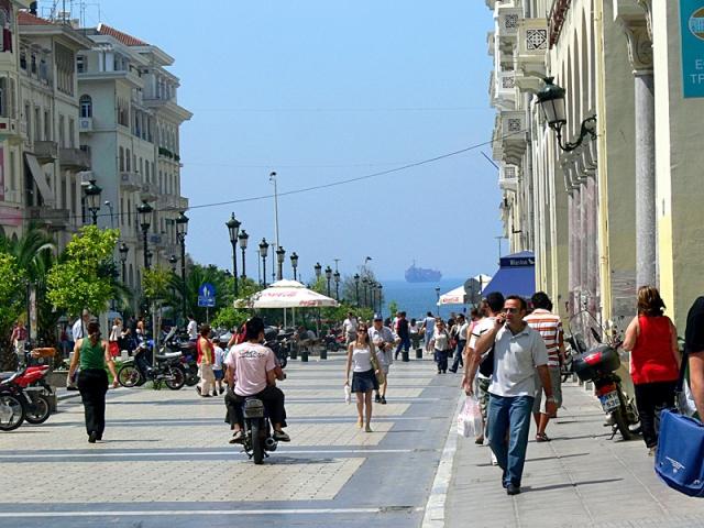 Цікаві місця Салоніки: Площа Аристотеля