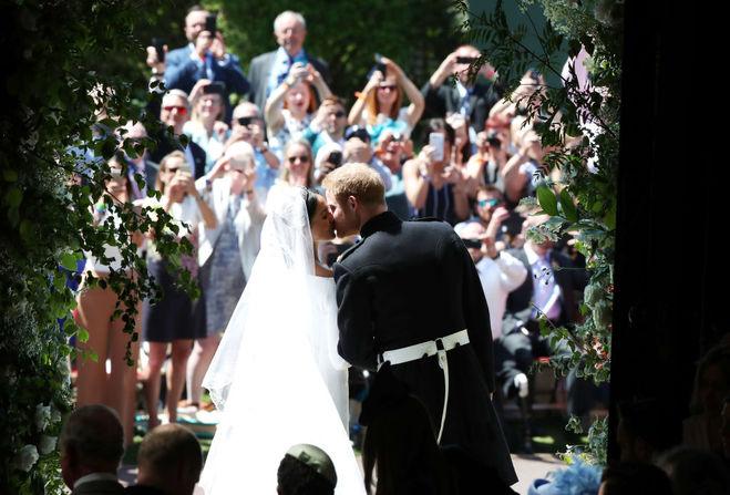 свадьба принца Гарри и Меган Маркл в фотографиях