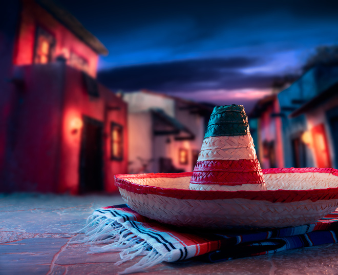 Мексика. еда. атрибуты