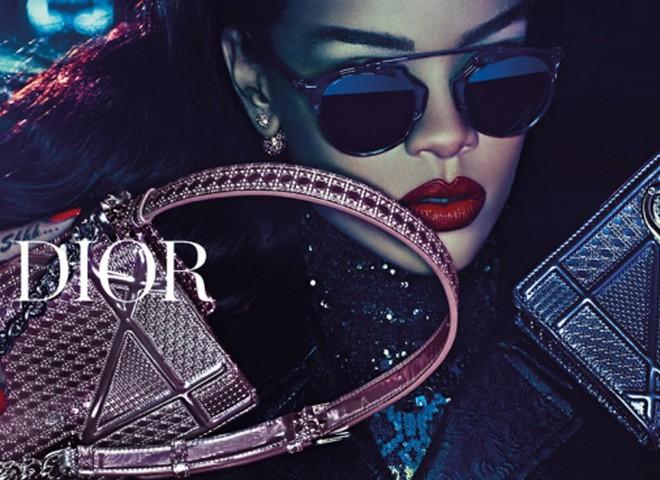 Ріанна в рекламе Dior