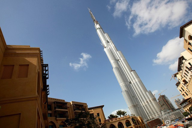 Топ 5 небоскребов: Бурдж Халифа
