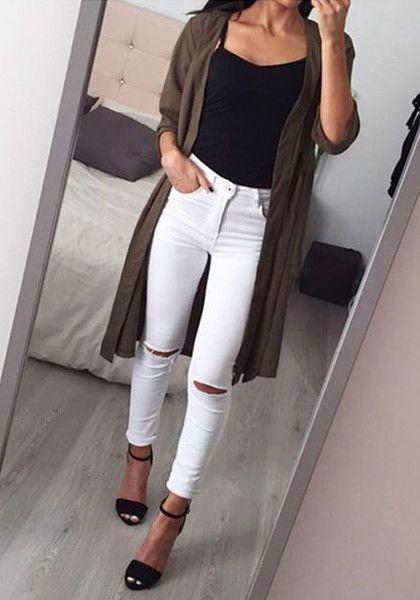 Білі джинси літо 2018