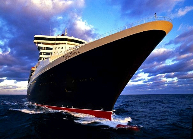 5 самых романтических лайнеров: лайнер Queen Mary 2