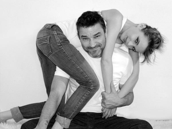Ирена Карпа с мужем