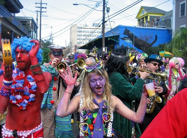 Фестивали февраля: Марди Гра в Новом Орлеане