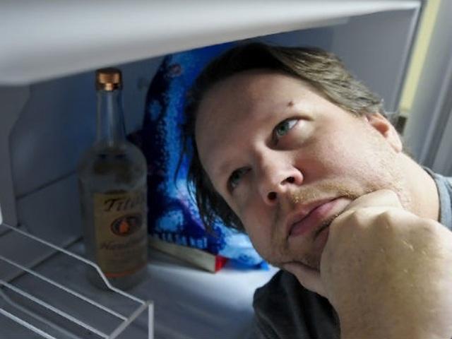 голова в холодильнике картинки