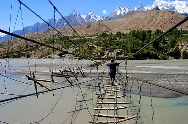 Hussaini Hanging Bridge (Pakistan)