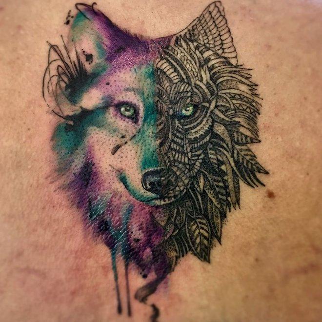 Подборка красивых татуировок от tattsketches