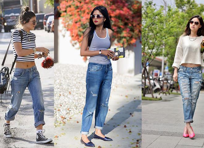 Рвані джинси  як і з чим носити - tochka.net f87cf92427d41