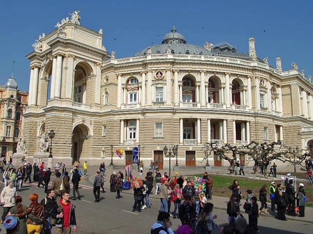 1 апреля в Одессе