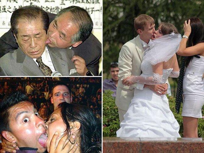 ТОП неудачных поцелуев