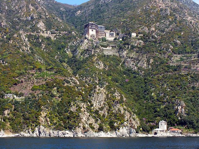 Цікаві місця Греції: Монастир святого Петра, Афон
