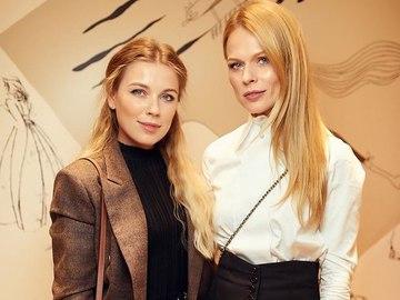 Ольга Фреймут з сестрою Юлією