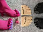 Взуття з роздільними пальцями: результат творіння Balenciaga і Vibram