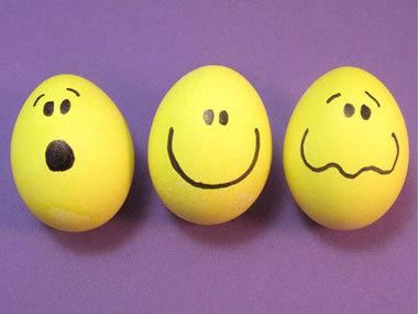 Прикольные идеи пасхальных яиц