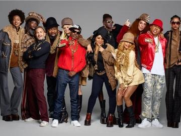 Хіп-хоп знаменитості в рекламі Marc Jacobs
