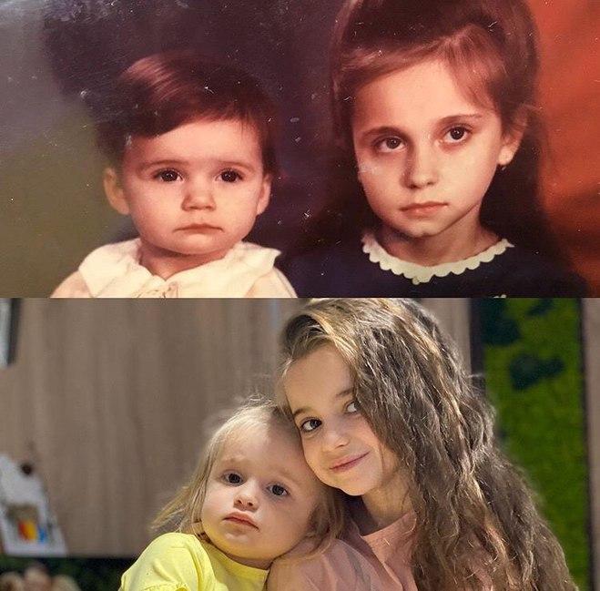 Лилия Ребрик с сестрой Юлианой
