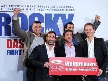 Братья Кличко и Сталлоне