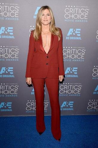 Дженнифер Энистон на Critics' Choice Awards 2015