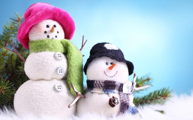 Классные картинки со снековиками в Новый год