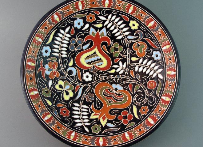 Крымскотатарская интерьерная керамика