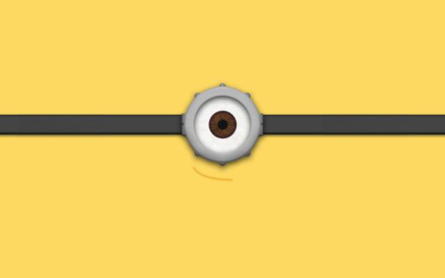 Глаз миньона