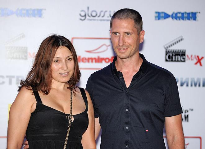 Денис Силантьев  с женой