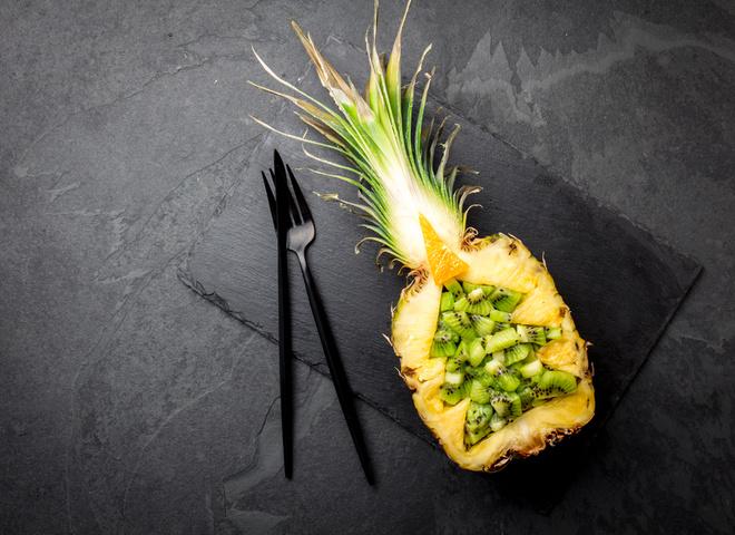 Рождественский стол: рецепты вкусных блюд с ананасом