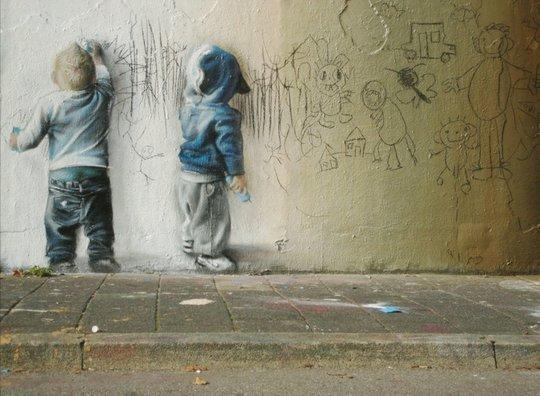 Искусство, живущее на стенах