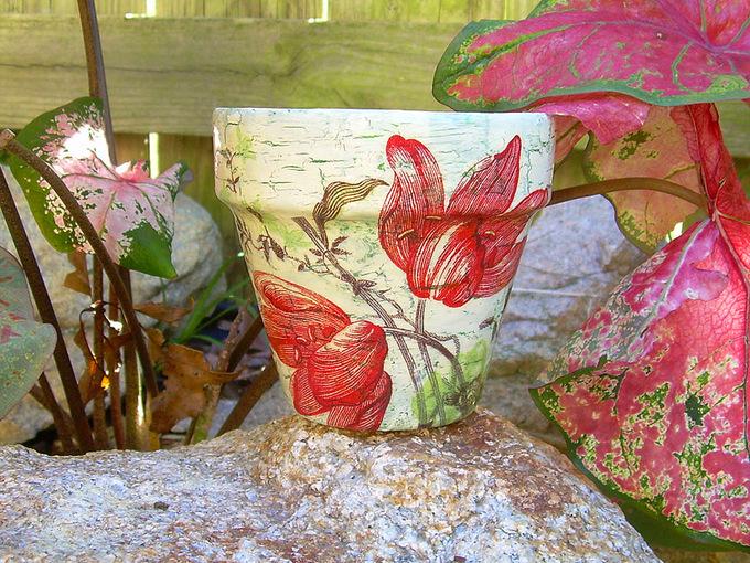 Хенд-мейд вазони для квітів