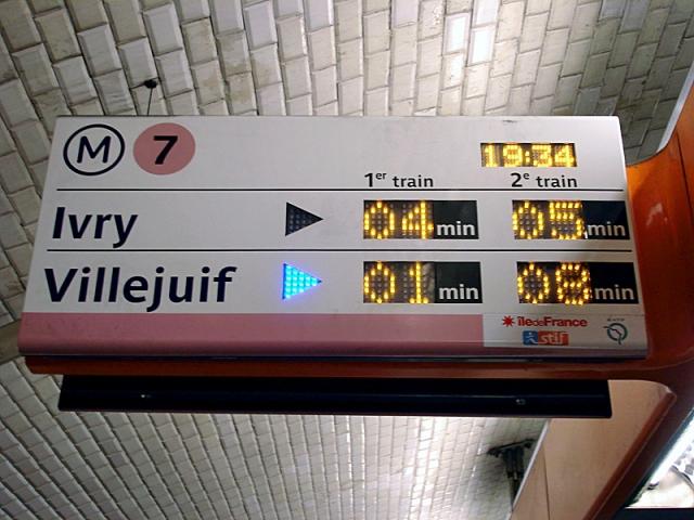 Самые запутанные метро мира: Париж, Франция