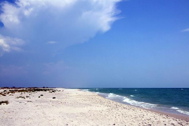 Безлюдний острів Джарилгач