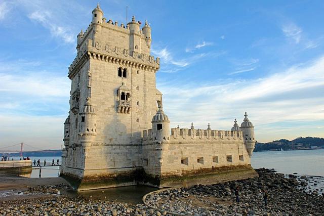 Достопримечательности Лиссабона: башня Белен