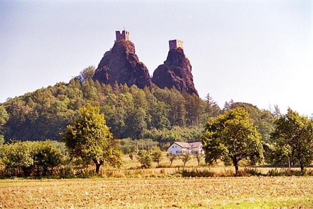 Самые красивые замки Европы. Крепость Троски, Чехия