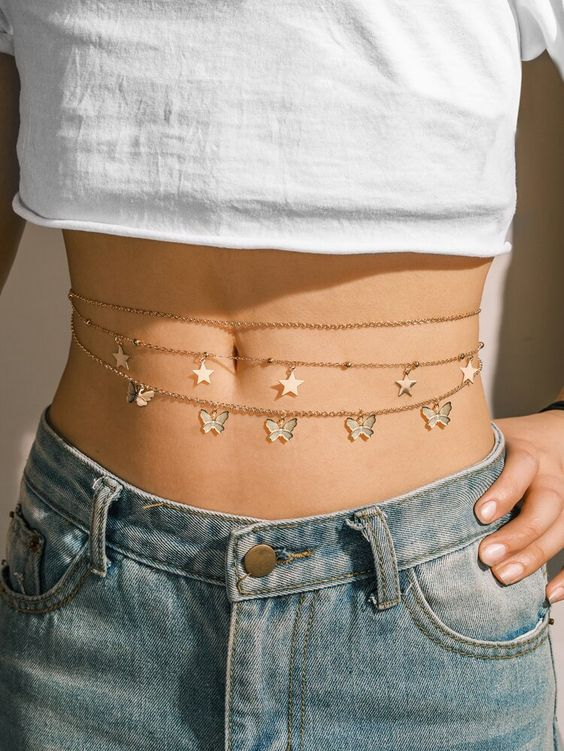 Belly chain — трендовая цепочка на талию