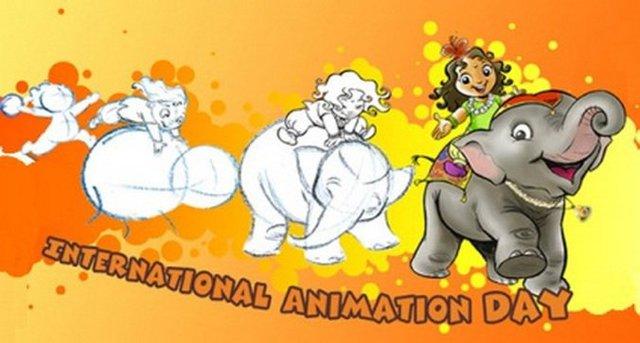 Открытки на международный день анимации