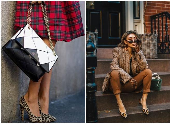С чем носить леопардовую обувь и выглядеть при этом дорого