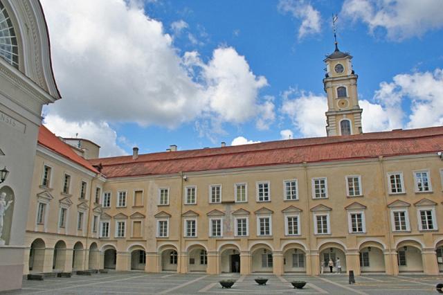 Цікаві місця Вільнюса: ансамбль Вільнюського університету