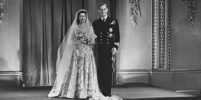 Свадьба королевы Елизаветы II и принца Филиппа