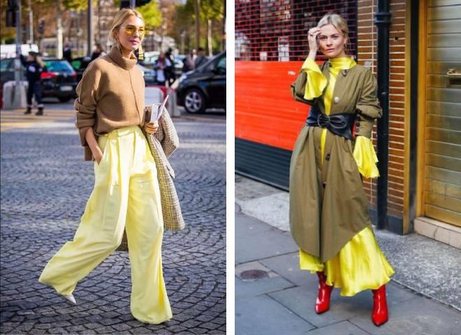 Жовтий колір в одязі: що означає