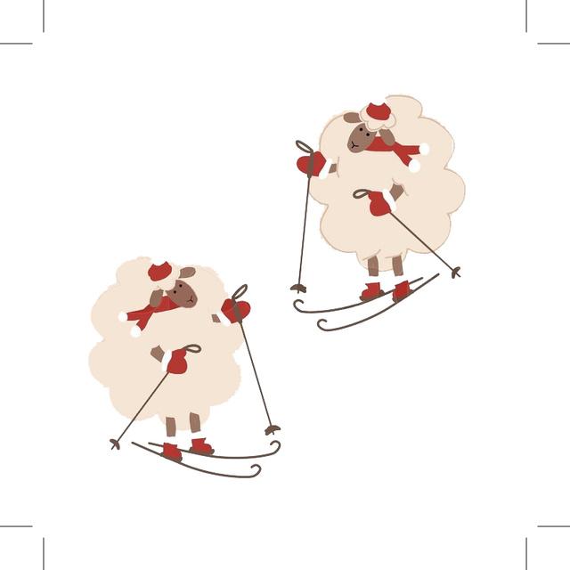 Овцы-лыжники 2015