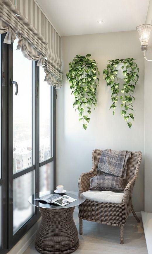 Балкон-вітальня