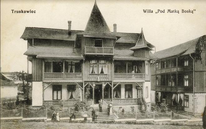 Трускавец 100 лет назад
