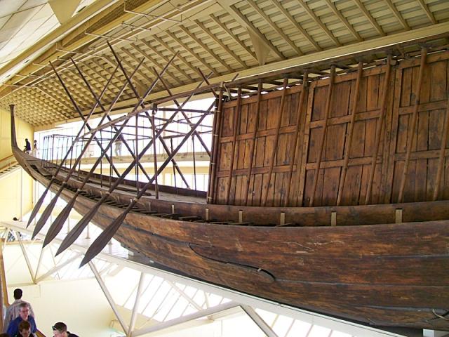 Музеи Египта: Музей солнечной ладьи, Гиза