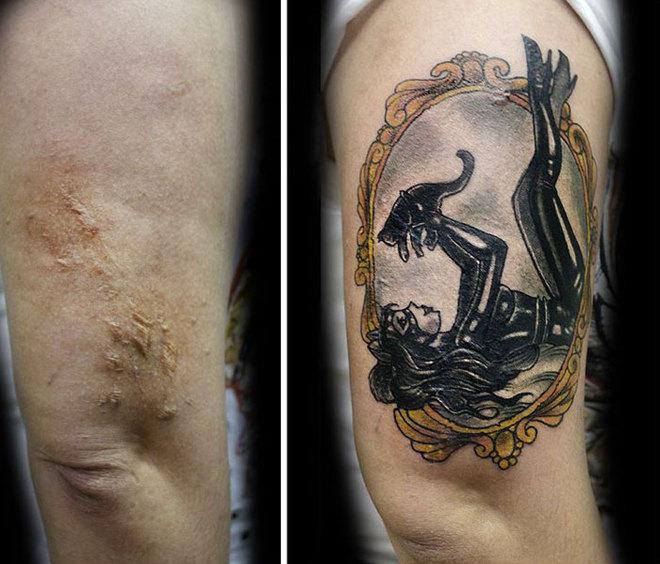 Мастер татуировок Флавия Карбальё делает бесплатные тату пострадавшим женщинам