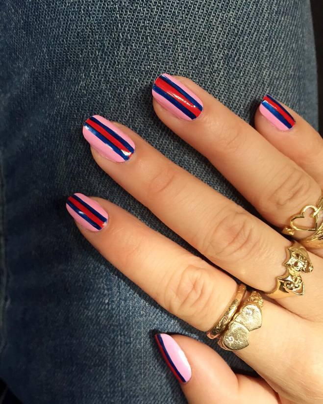 Модний манікюр осінь 2016 - контурінг нігтів