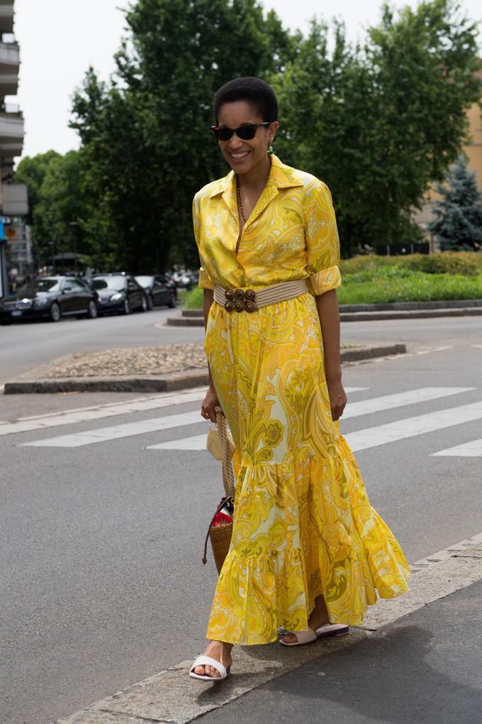Неделя мужской моды в Милане: уличный стиль