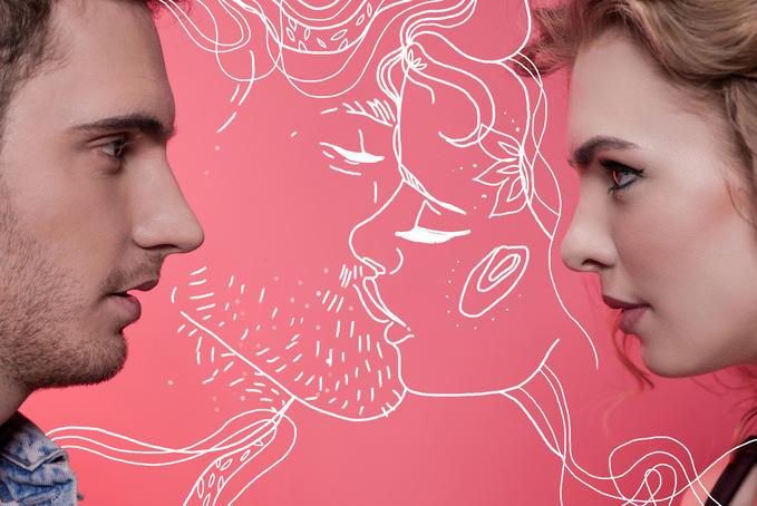 ТОП-5 порад для суперсексуального поцілунку