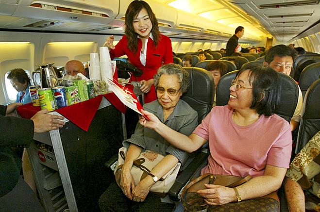 Самі тривалі перельоти: Thai Airways