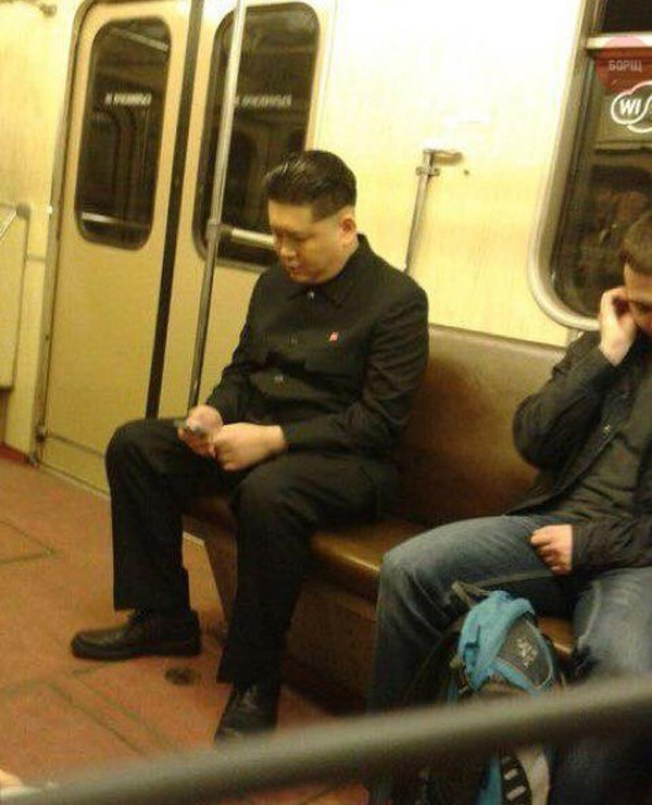 Кого только в метро не встретишь